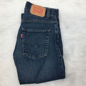 Boys Levi's 511 Jeans in Blue Wash - Size 12